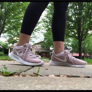 Nike Shoes - Nike Pink Tanjun Sneakers Size 8